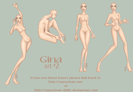 .:Gina - Set2:. by FionaCreates