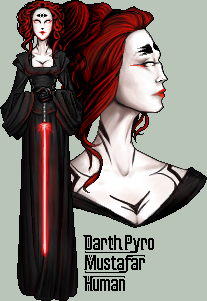 Darth Pyro by FionaCreates