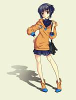 Anime Drawing by FionaCreates