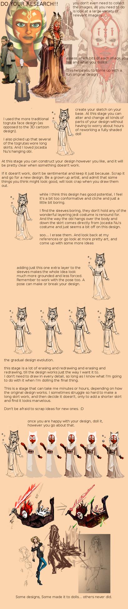 Design your Dolls tutorial by FionaCreates