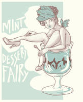 Mint Dessert Fairy by FionaCreates