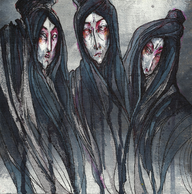 the journey of macbeth to meet the three witches in the play macbeth Enter three witches first witch when shall we three meet again  whereto the rather shall his day's hard journey  enter macbeth macbeth why should i play the.