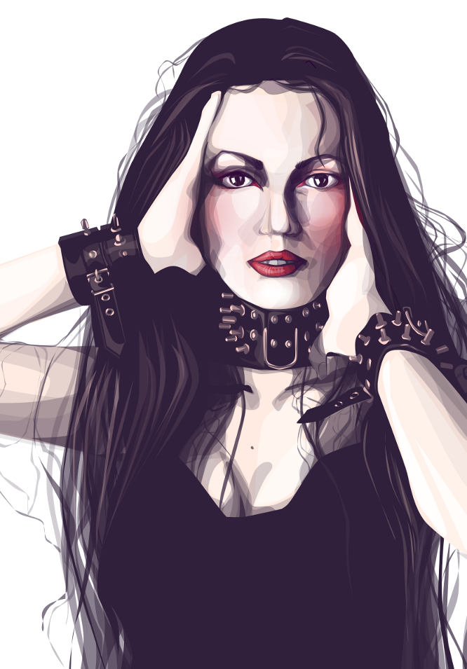 Vectorgirl by FionaCreates