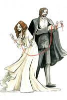 The Phantom and Christine by FionaCreates