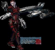 Commander Shepard - MDG1 by FionaCreates
