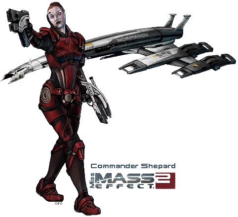 Commander Shepard - MDG1 by FionaCreates