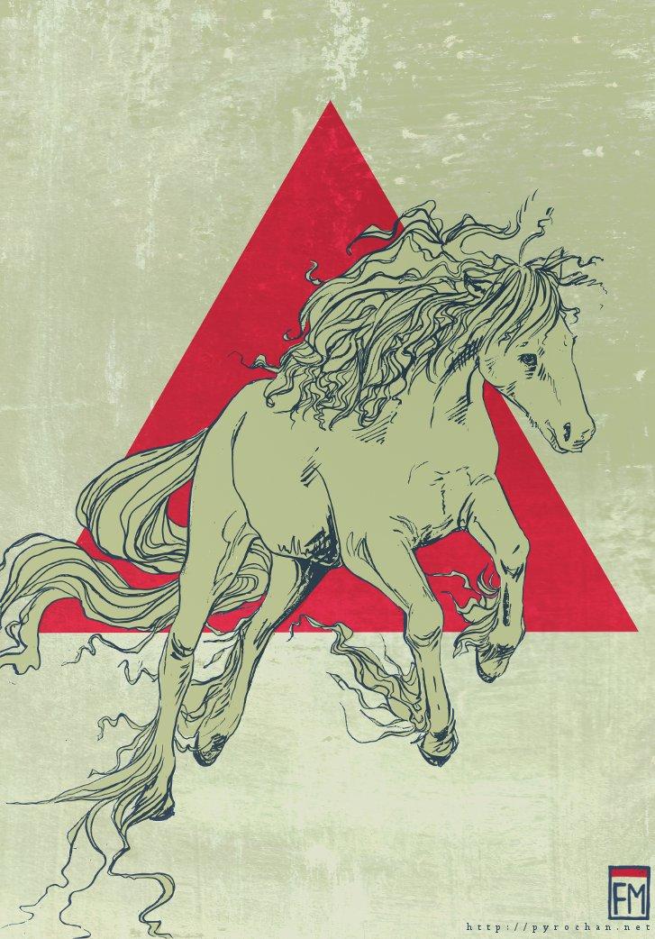 Horse of Epic by FionaCreates