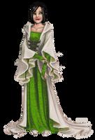 Redoll: Cream Robes by FionaCreates