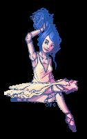 Baserace - Ballet Hair Doll by FionaCreates