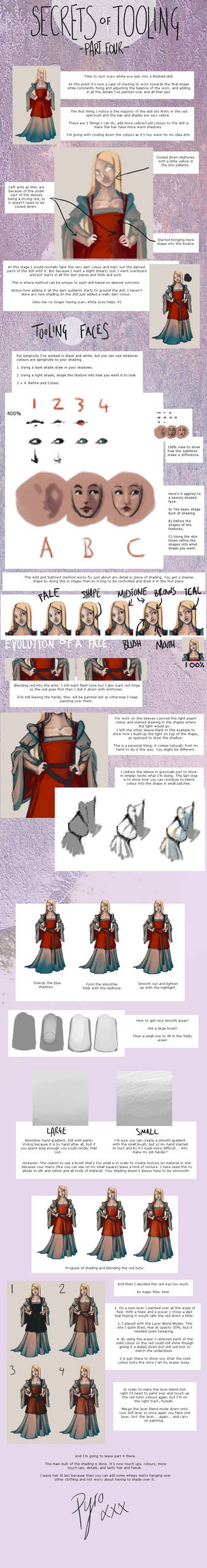 Secrets of Tooling - Part 4 by FionaCreates