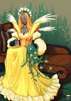 Yellow Archangel by FionaCreates