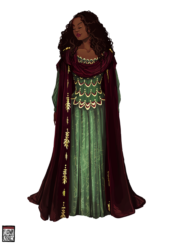 Opera Costume - Agrippine by FionaCreates
