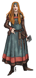 Viking ShieldMaiden by FionaCreates