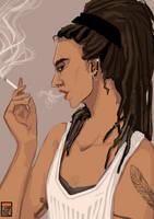Pen - Portrait Commission by FionaCreates