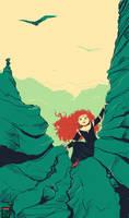 Merida from Brave by FionaCreates