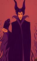 Maleficent by FionaCreates