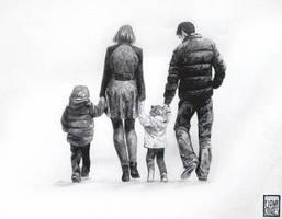Family Portrait - 1 by FionaCreates