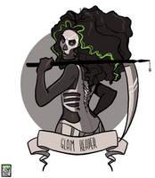 Skull by FionaCreates