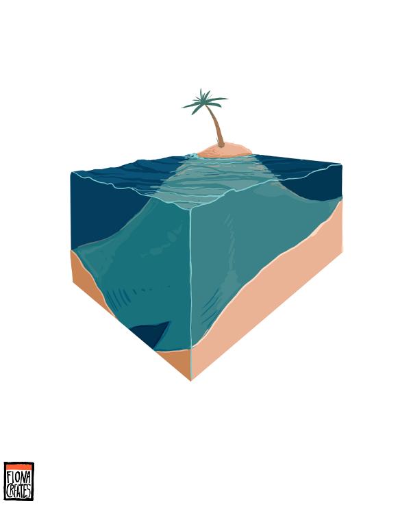 Island Environment by FionaCreates