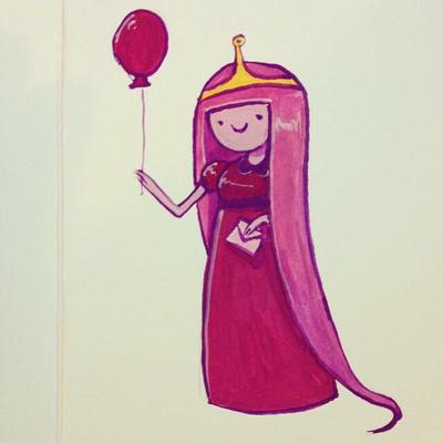 Princess Bubblegum by FionaCreates