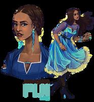 Alicia Mara - Fiji by FionaCreates