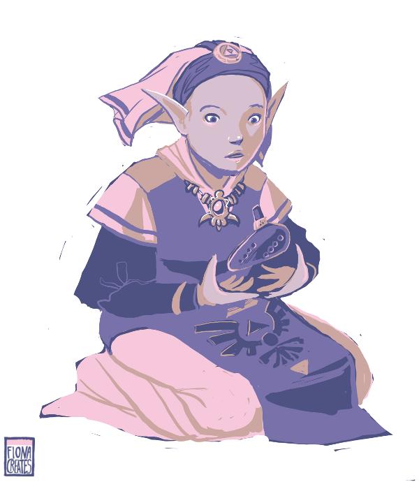 Zelda - Palette Challenge by FionaCreates