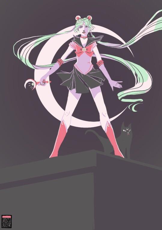 Sailor Moon - Palette Challenge by FionaCreates