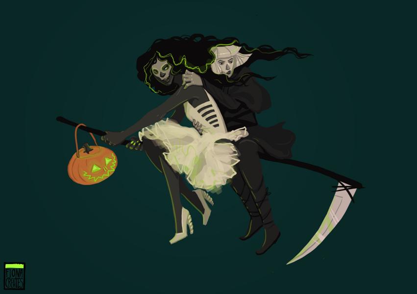 Have a Gloria-ous Halloween by FionaCreates