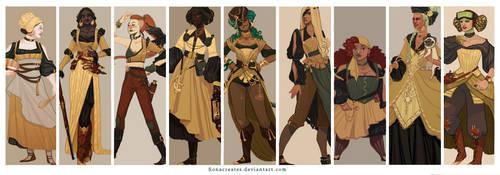 Steampunk Extravaganza by FionaCreates