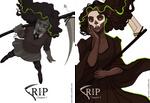 Cover Art RIP comic (plus release date!) by FionaCreates