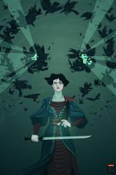 Sabriel vs The Gore Crows by FionaCreates