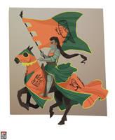 Serafina the Knight by FionaCreates