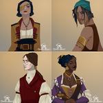 Osprey Adrift - Characters 2