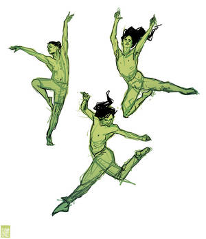 Male Ballet Sketches