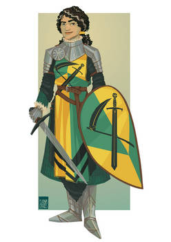 Lady Knight - Commission