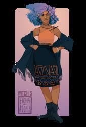 Witch 5 by FionaCreates