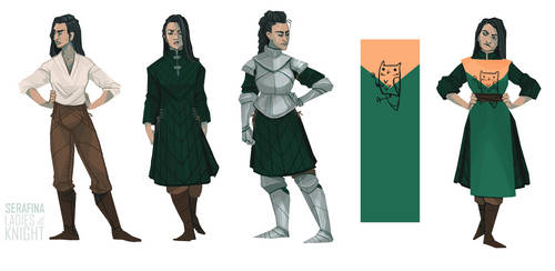 Serafina - design sheet. by FionaCreates