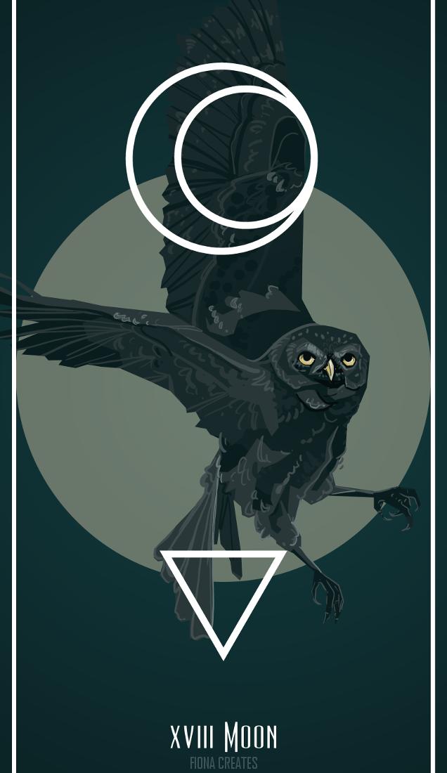 XVIII Moon by FionaCreates