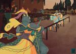 Dames Knight Zine - Illustration