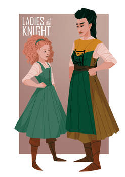 George and Serafina - Ladies of the Knight