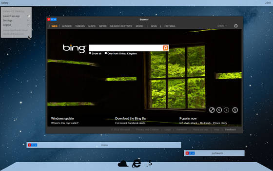 Galaxy OS Dev build screenshot 6