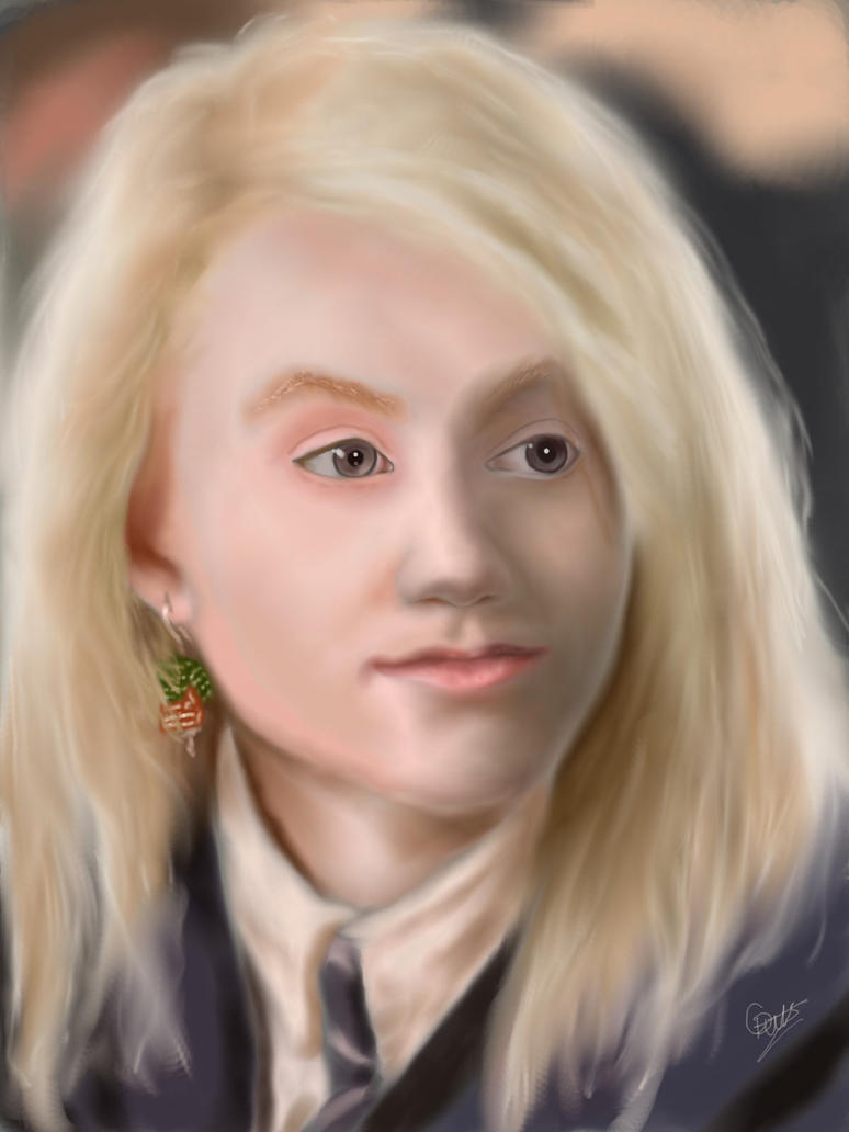 Luna Lovegood by ConorTheStarchilde on DeviantArt