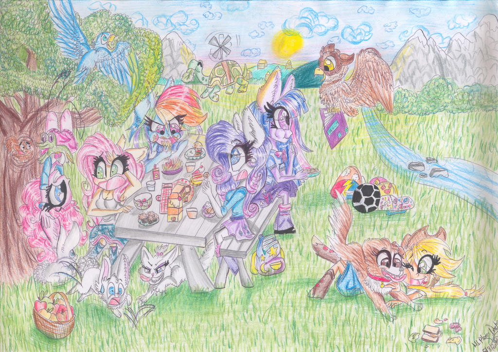 ~Picnic T!me~ by MLPloverDash