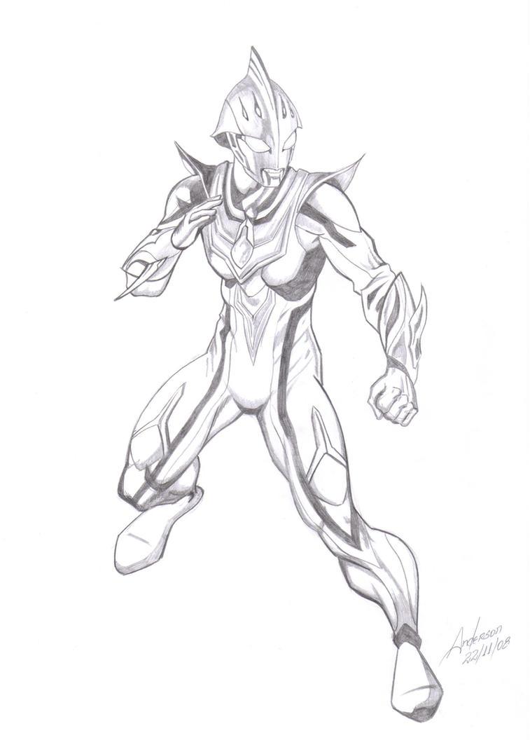 The Ultraman Nexus By Anderson1974 On DeviantArt
