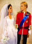 royal couple william barbie