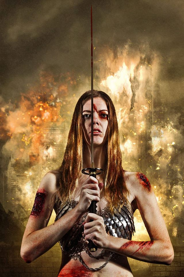 warrior princess Carrie Turner by TWPhotos