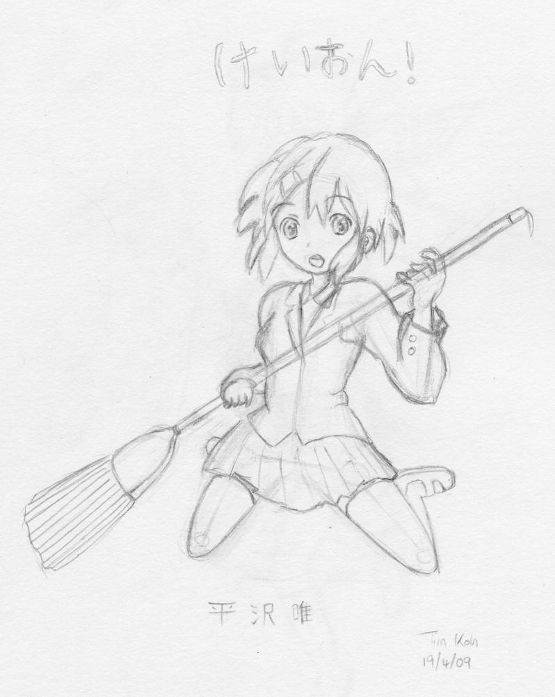 K-on Yui Hirazawa by raptor-tk