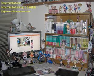 Tim's Desk by raptor-tk