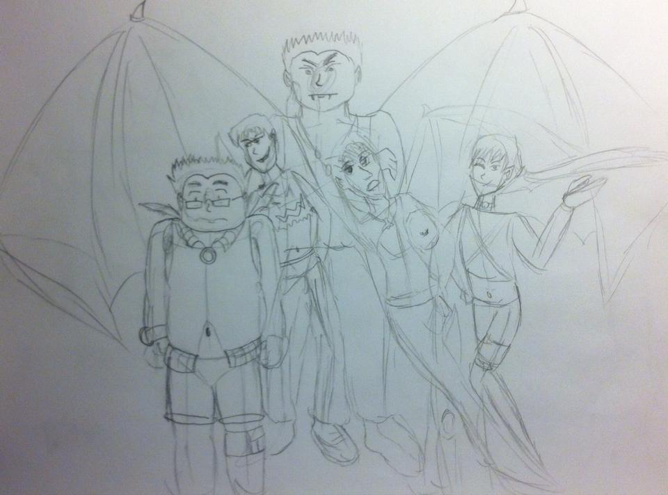 Incubus Family-Rough Draft by Nekorin-Gatacat