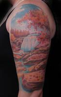 Fall scene by tattoosbybob